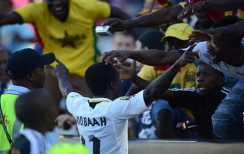 Santos fans pledge support for Ghana in CHAN final against Libya