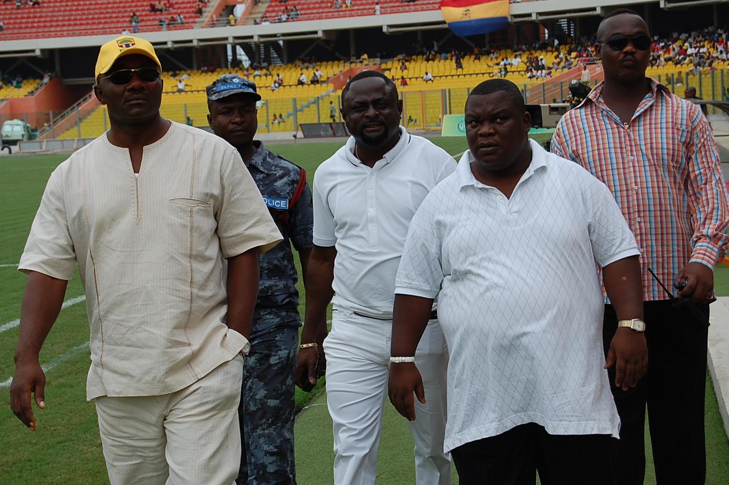 Thomas Okine's management style was unique- GOC president praises ex-Hearts Board member