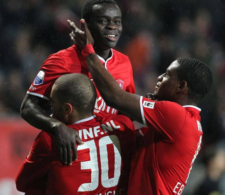 Whizkid Shadrach Eghan scored for FC Twente