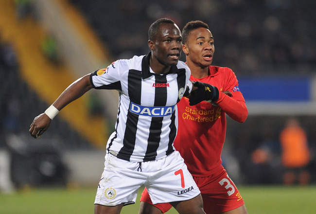 Emmanuel Agyemang-Badu wants to be African great