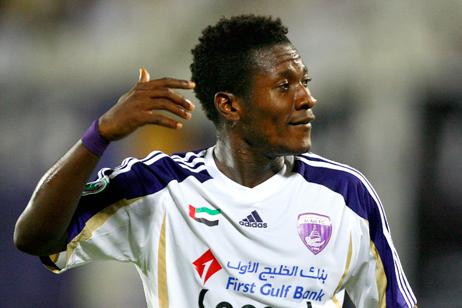 Asamoah Gyan scored a classic goal for Al Ain