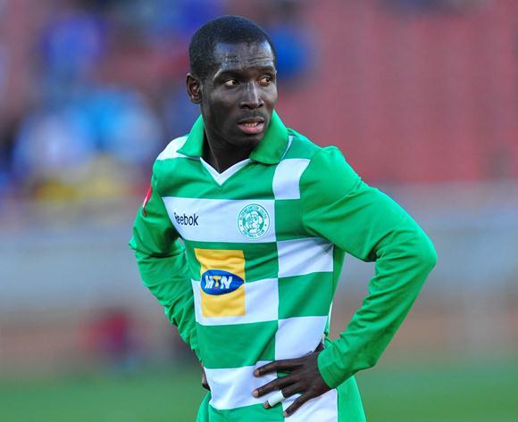 John Arwuah during his days at Bloemfontein Celtic.