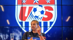 United States coach Juergen Klinsmann believes his side will turf out Germany, Portugal or Ghana in the first round of the World Cup in Brazil in June.