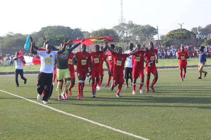 Kotoko will train on the Tema astro turf on Thursday