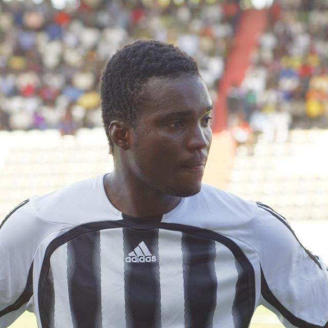 Yaw Frimpong in action for TP Mazembe.