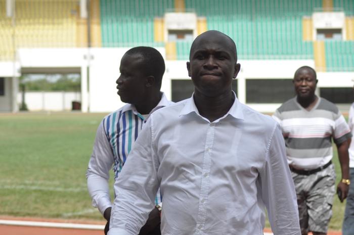 Hardworking president Moses Armah, nicknamed 'Mospack'