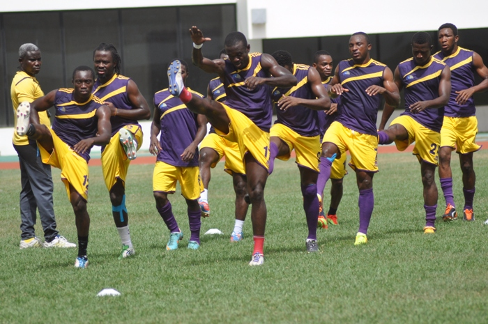 Medeama warm-up ahead of the game