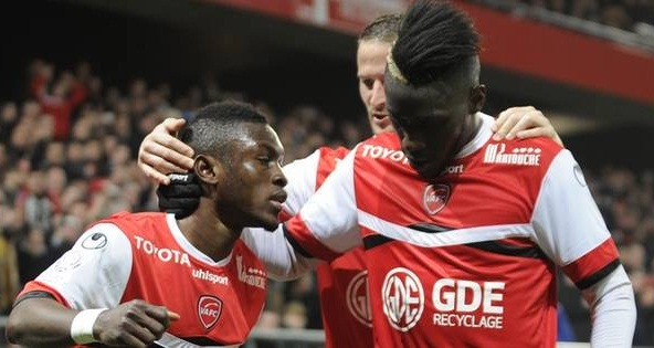 Abdul Majeed Waris scored for Valenciennes