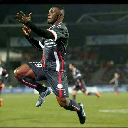 Abdul Majeed Waris scored twice for Valenciennes
