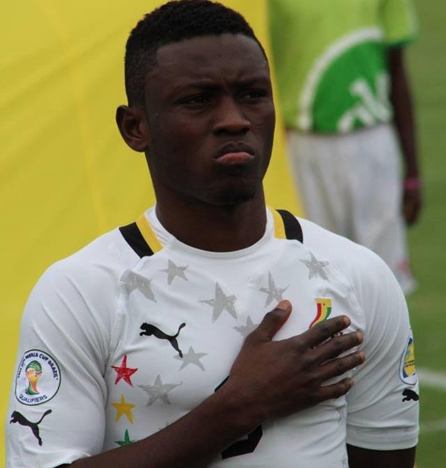 Ghana striker Abdul Majeed Waris.