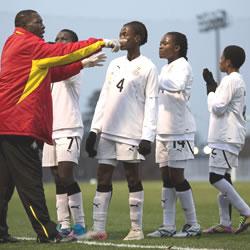 Ghana coach Evans Adotey