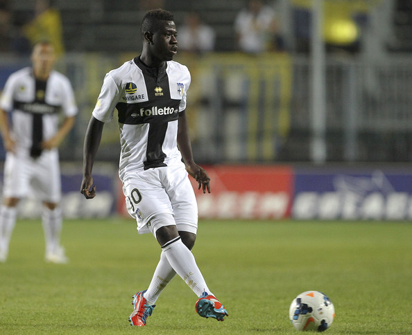 Parma's Afriyie Acquah to start against AC Milan