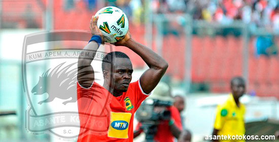 Amos Frimpong out for a week
