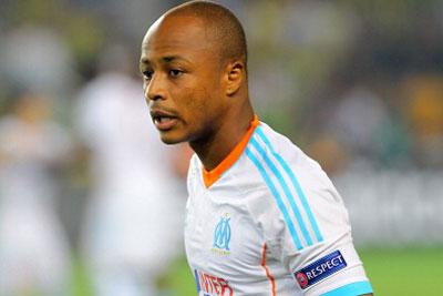 Andre Ayew denies Marseille exit rumours