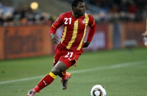 World Cup 2014: Ghana's Asamoah ready to play at left-back to stop Portugal's Ronaldo