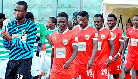 Asante Kotoko held Berekum Chelsea on Sunday