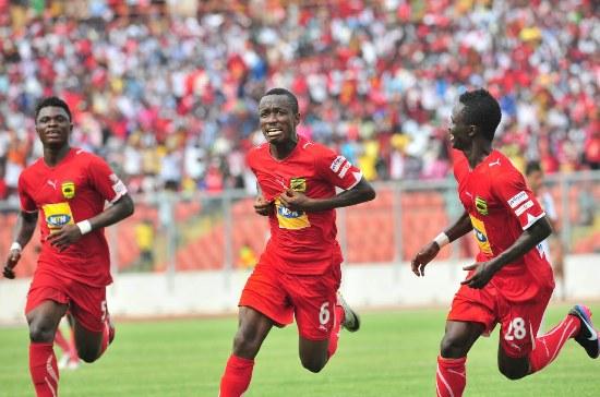 Asante Kotoko beat AshGold 4-1 on Sunday