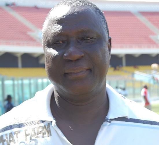 Ghana U20 Women's team coach Bashir Hayford