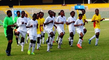 Black Maidens in preparations ahead of the 2014 World Cup