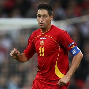 Montenegro captain Branko Boskovic
