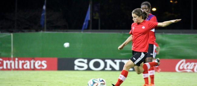 Canada U17 girls will face Ghana on Saturday.