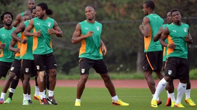 Cote d'Ivoire will be competing at the 2014 World Cup