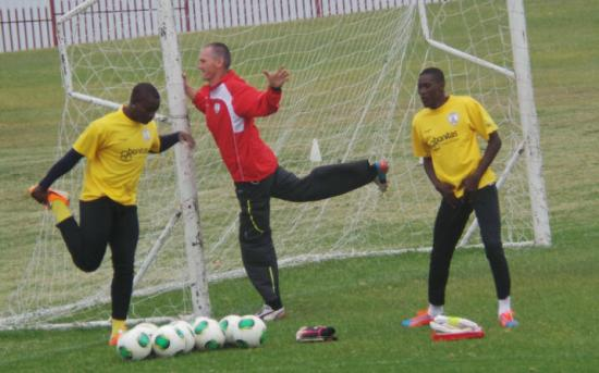Daniel Agyei back in training at Free State Stars