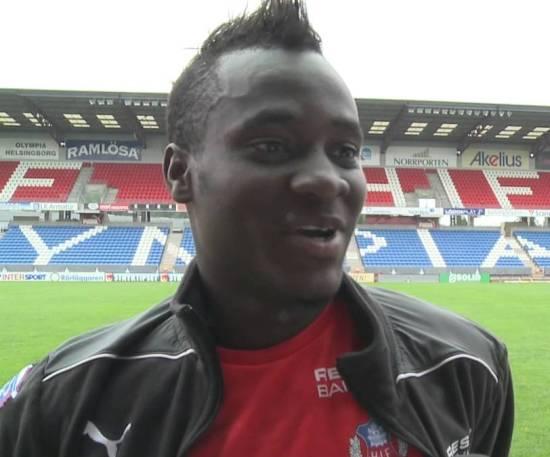 David Accam confident of Helsingborg success in Swedish Cup