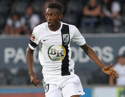 David Addy was left out of the Vitoria Guimaraes squad for the weekend clash