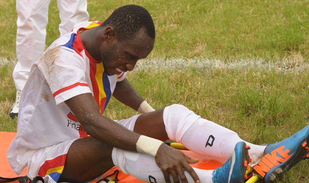 Hearts of Oak hit by injury crisis after latest horrific injury to midfielder Hayford