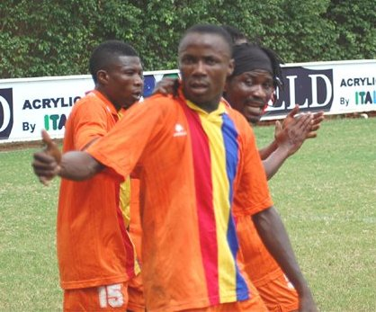 Ex Hearts of Oak striker James Abban