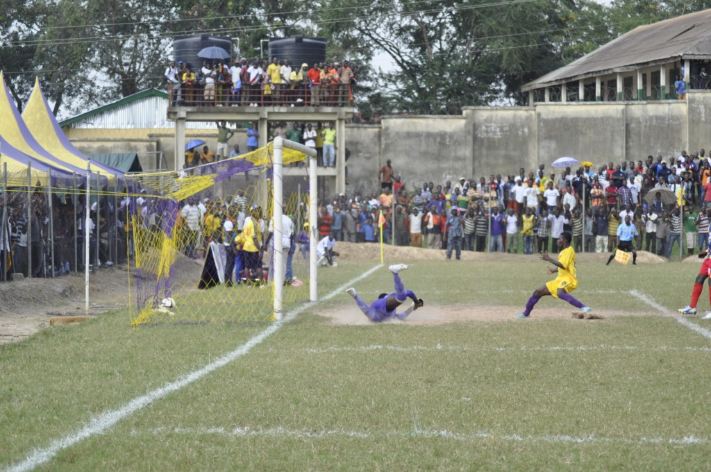 Godbless Asamoah scores first goal in Medeama.