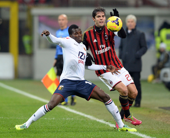 Genoa will be without Isaac Cofie for Juventus visit