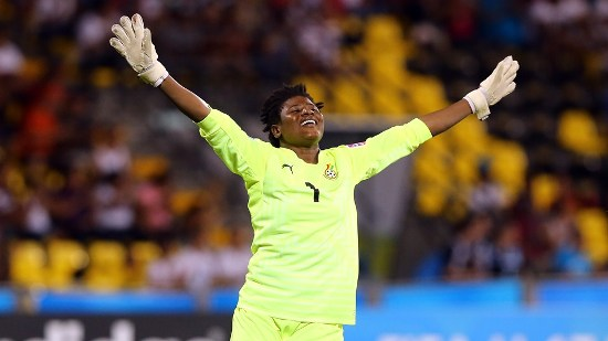 Ghana goalkeeper Azume Adams