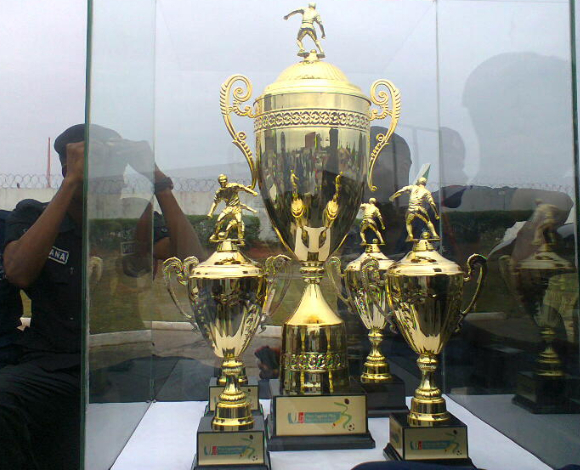 Ghana Premier League trophy
