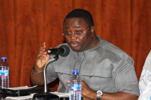 Ghana's Sports Minister Elvis Afriyie Ankrah