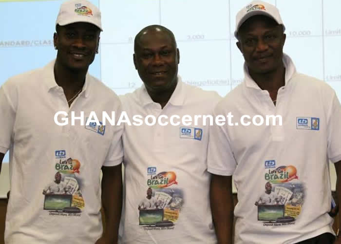 Asamoah Gyan and Kwesi Appiah are the new brands ambassadors of Unibank