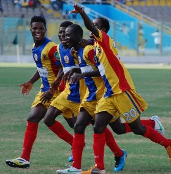 Hearts of Oak are second in the Ghanaian top flight