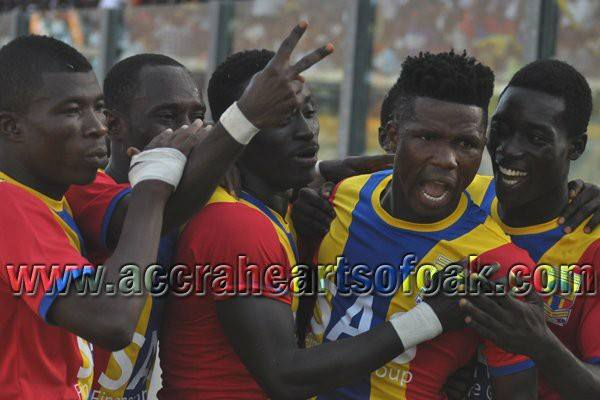 Hearts beat AshGold