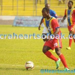 Dominant Hearts thrash Amidaus 3-0 in Ghana Premier League