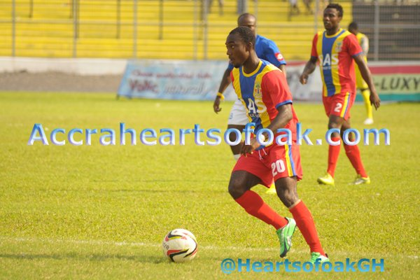Hearts of Oak beat Amidaus
