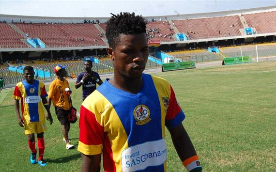 Hearts of Oak picked a point from King Faisal