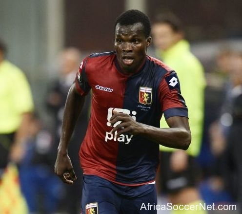 Isaac Cofie scored for Genoa