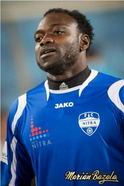 John Mensah suffered an injury
