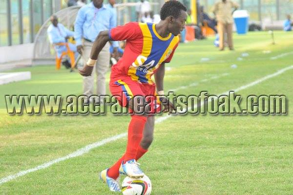 Kofi Abanga is out with injury