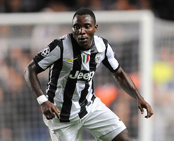 Kwadwo Asamoah is available for Juventus.