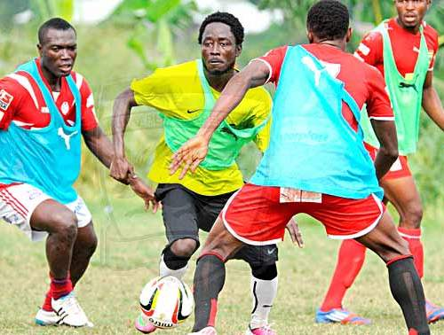 Larbi Koomson back in first team training at Kotoko