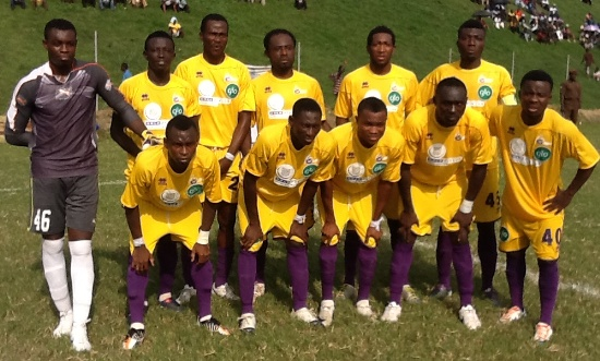 Medeama are in the playoff round of the CAF Confederations Cup