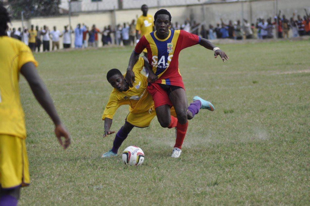 Hearts of Oak's Emmanuel Laryea