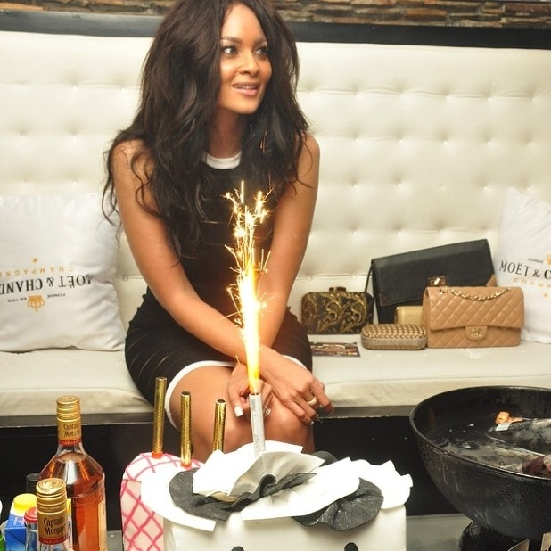 Menaye Donkoh's birthday bash